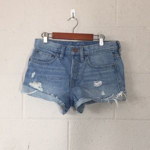 BDG UO Women's High Rise Mom Jean Shorts